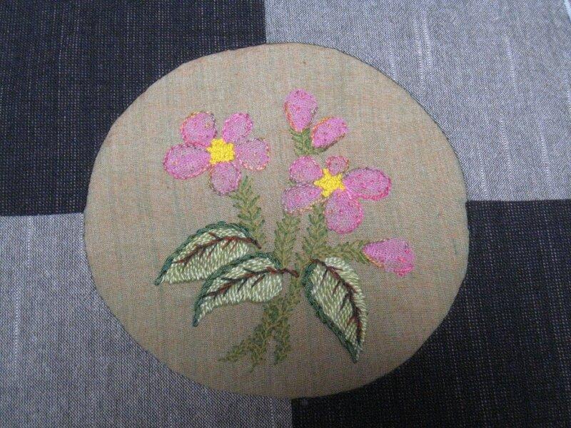 Fée Pirouette - L'herbier - Avril rose - BOM 2010