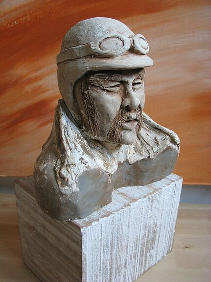 Superbe Sculpture en argile !