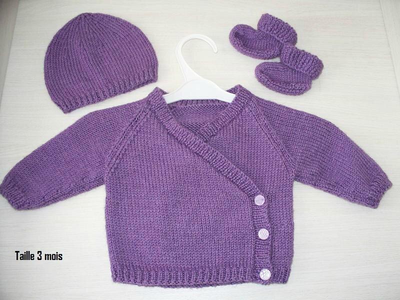 modeles tricots bebe gratuits