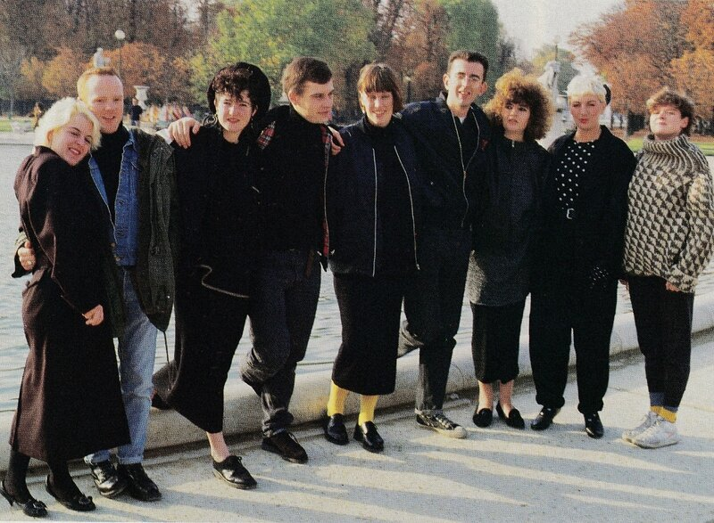 The Communards at Les Tuileries, november 1986