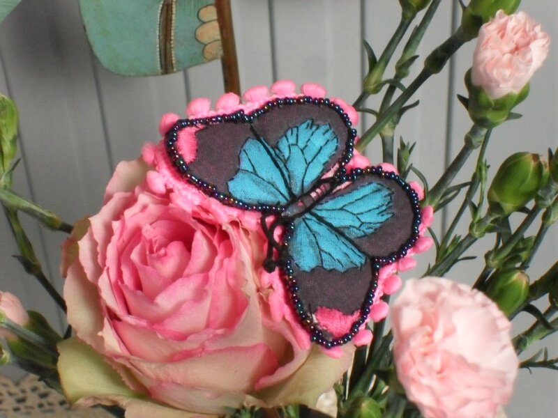 broche Papillon paf 2017