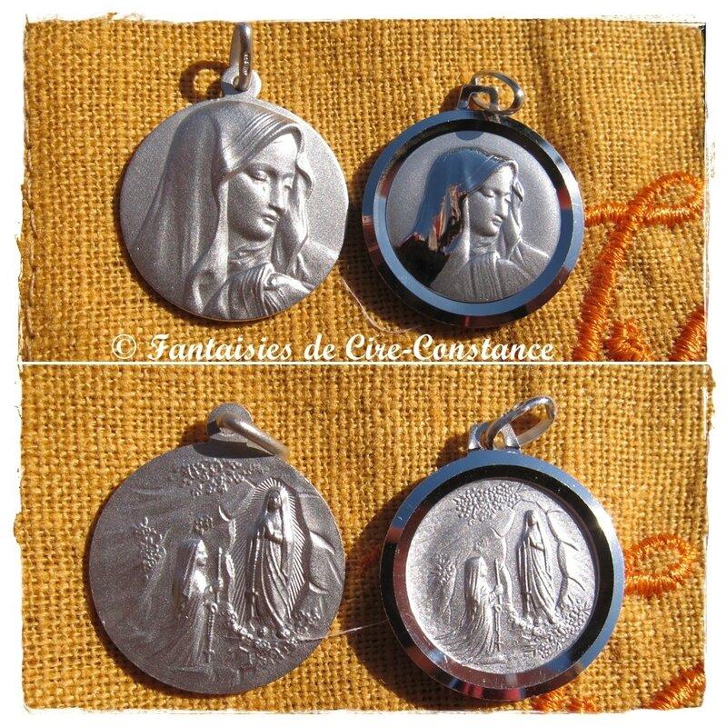 Médailles de la Vierge 20 mm