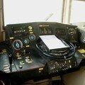 Poste de conduite d'une BB 9300 (9327)