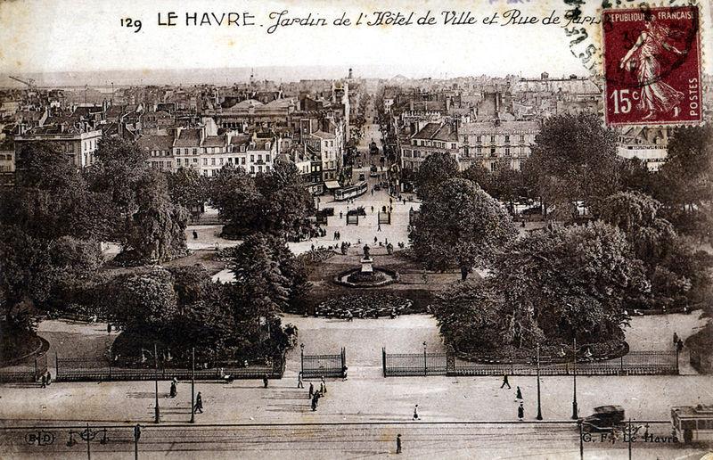 Les jardins de l 39 h tel de ville et la rue de paris le for Les jardins de la ville paris