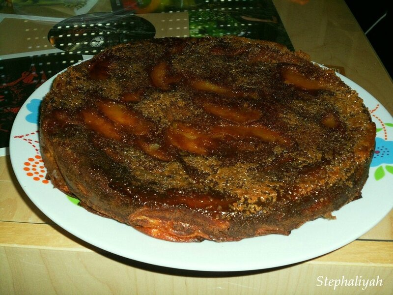 Gâteau invisible aux pommes - 26 mars 2017