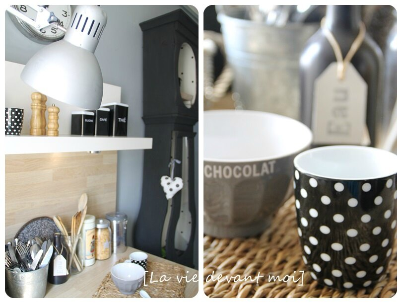 une d co mix and match dans ma cuisine la vie devant moi. Black Bedroom Furniture Sets. Home Design Ideas