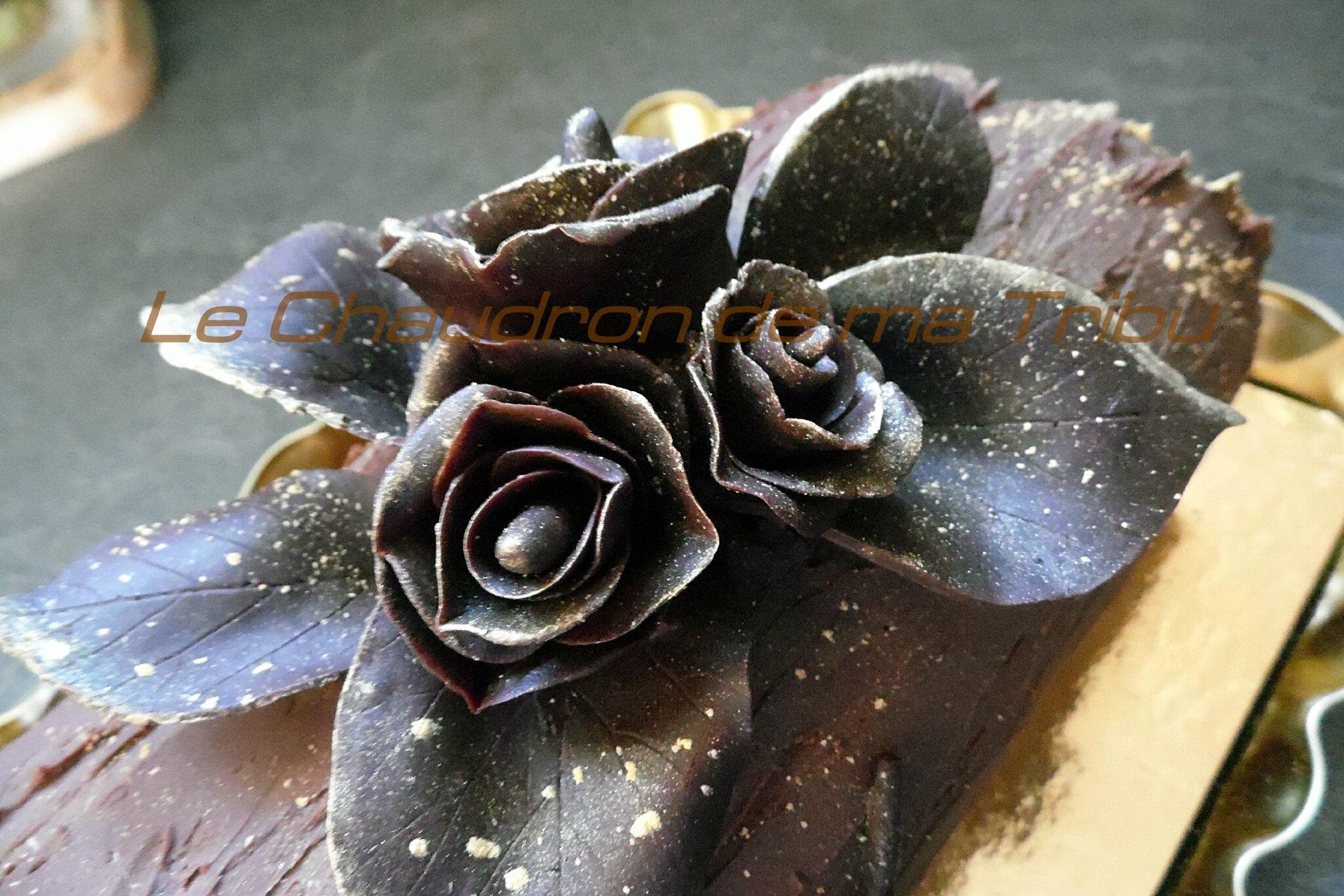 D coration en chocolat noel for Decoration en chocolat