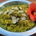 Curry de riz et légumes secs