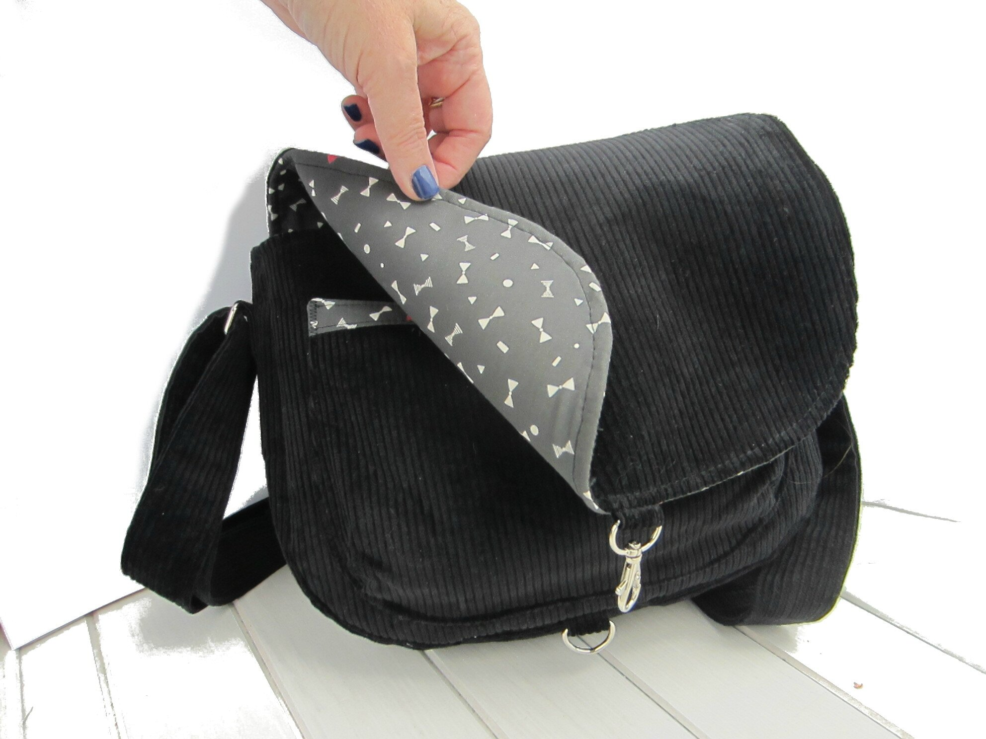 Le Sac Besace Forme Arrondi XdOY7Cy