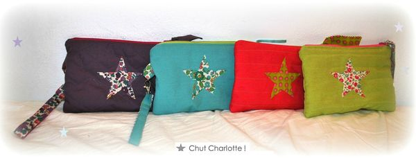 Pochettes matelasses couleurs (1ter)