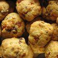 Cookies chorizo-tomates séchées