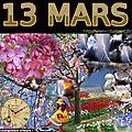 mois de MARS 13