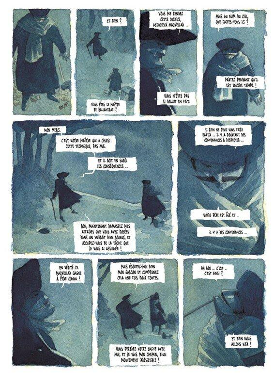 Le Maître de Ballantrae - tome 1 - planche 57