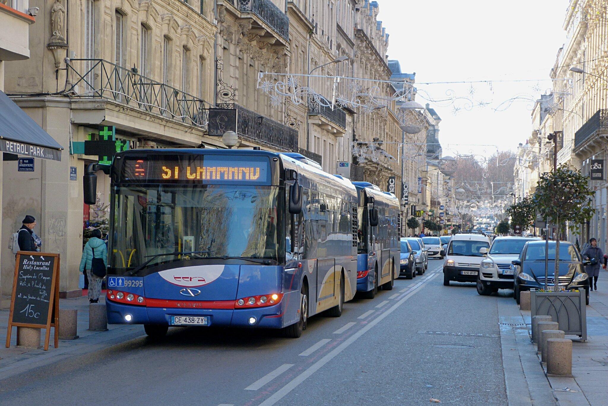 Avignon le tramway n 39 entrera pas dans les remparts - Ligne bus avignon ...