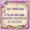 Bon début de week end