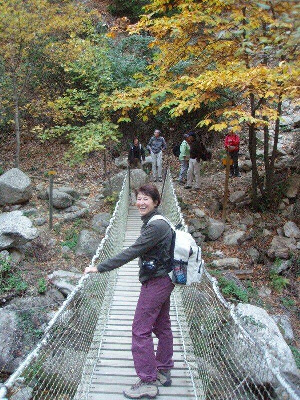 Le pont qui bouge photo de gorges de cady cascade des for Le jardin qui bouge