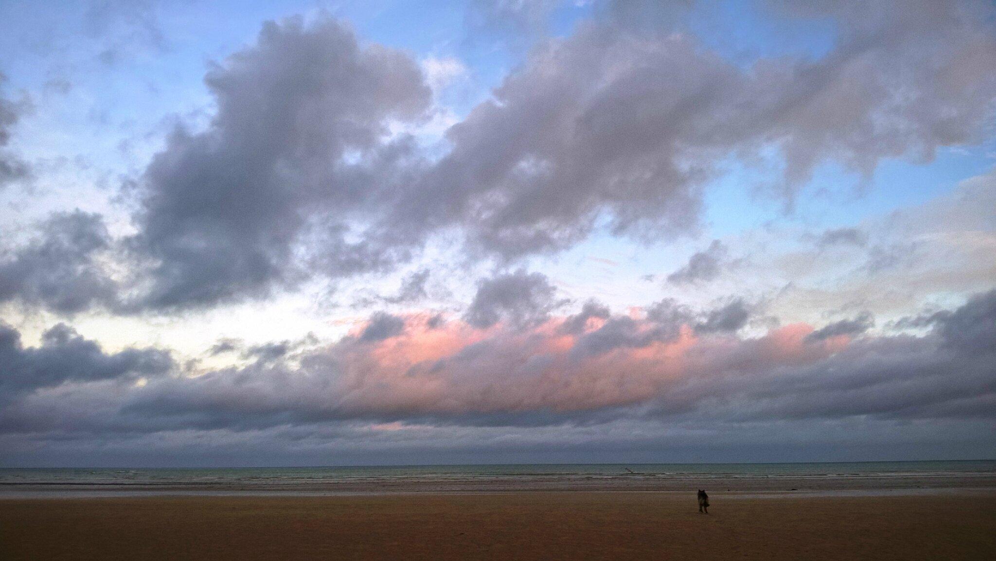 plus les minutes passent plus le ciel est magnifique