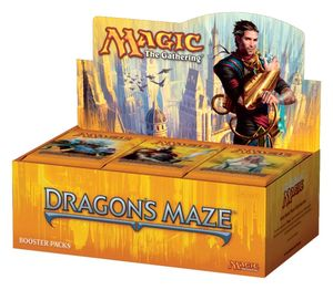 Boutique jeux de société - Pontivy - morbihan - ludis factory - Magic Dragon Maze booster