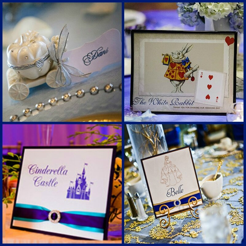 DECORATION TABLE MARIAGE DISNEY