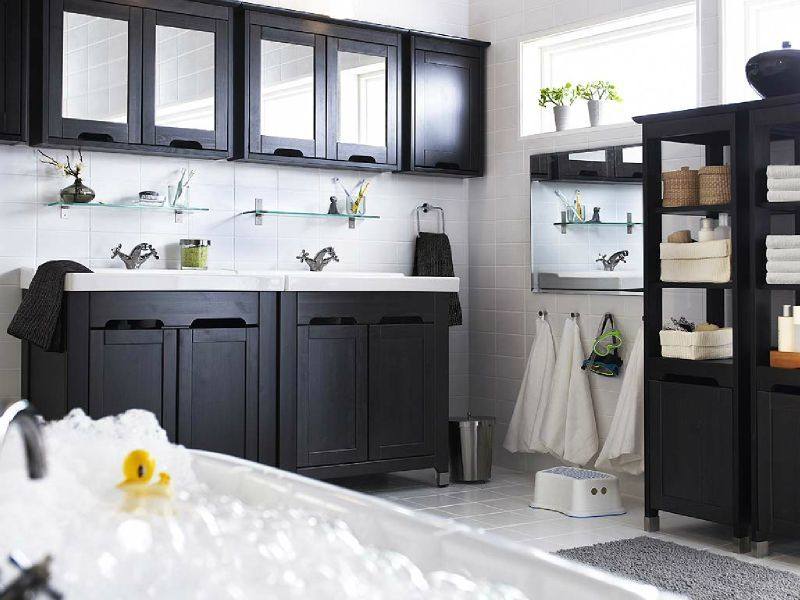 salles de bain ikea passion. Black Bedroom Furniture Sets. Home Design Ideas