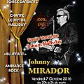 Dates des spectacles octobre 2016