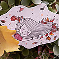 Inktober day 19... feuilles d'automne