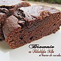 Brownie au philadelphia milka et beurre de cacahuètes