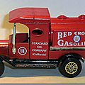 Y-3 Ford Model T Tanker Red Crown Gasoline A 3
