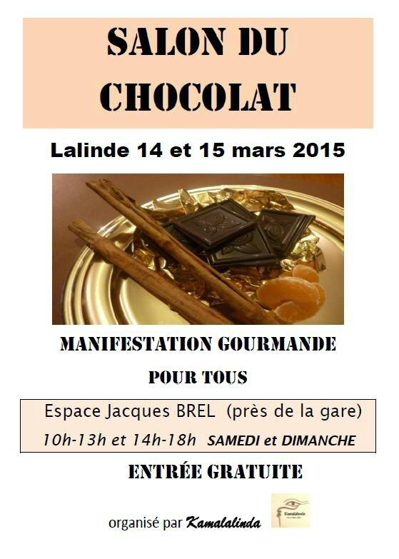 Salon du chocolat le papotier for Salon du chocolat montauban