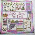 Take time to quilt-winter / Jeannette Douglas