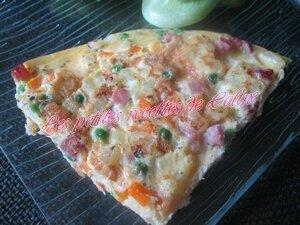 Frittata au jambon et légumes44