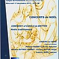 Samedi 07/12 : concert de noël gratuit ! ceremony of carols (britten) - noëls traditionnels