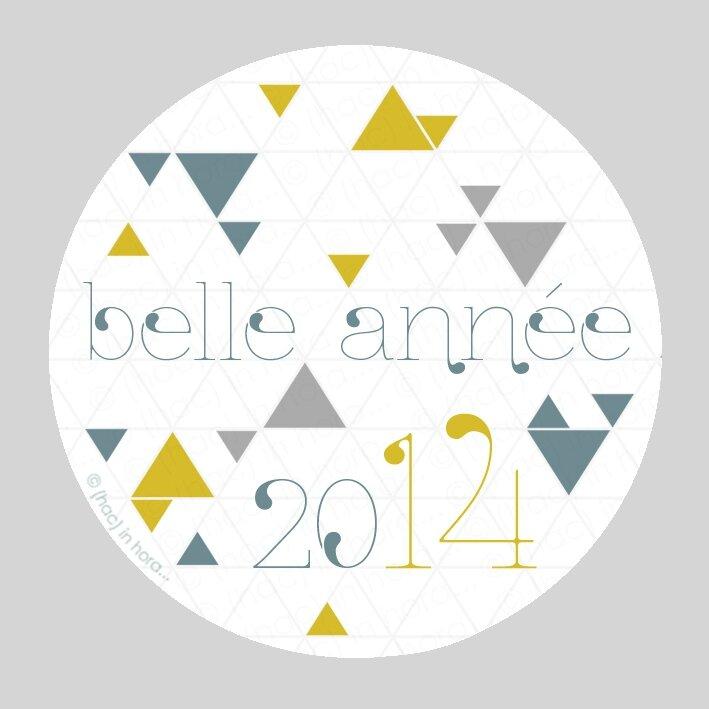essai stickers triangolini-année