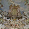 Wieskirche : fresque (coupole )