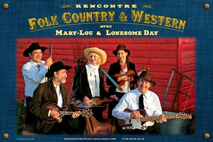 Affiche : Mary-Lou & Lonesome Day/ Rencontre