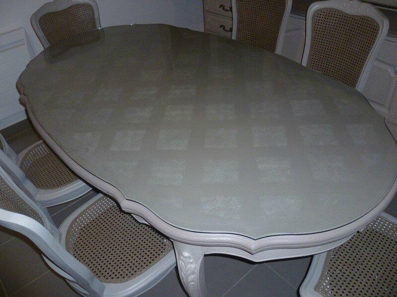 Relooking meuble 4 r gions de l est de france page 222 pro votre patrimoine mobilier - Peindre une salle a manger ...