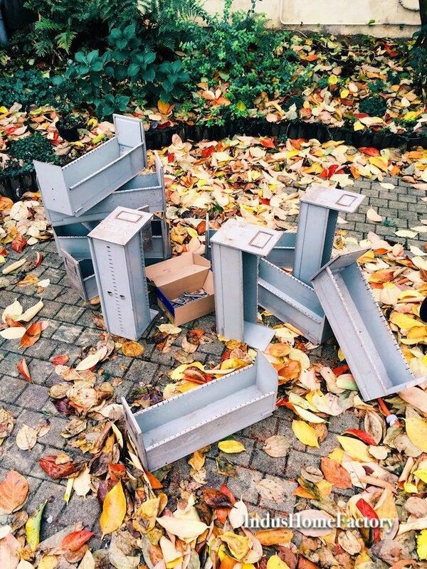 meuble métier metal industriel casier 8