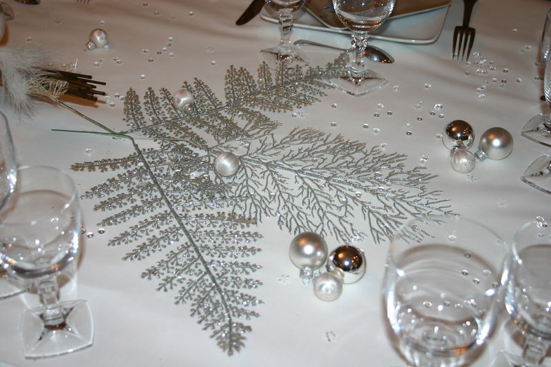 D corations de tables a mes heures perdues for Decoration reveillon