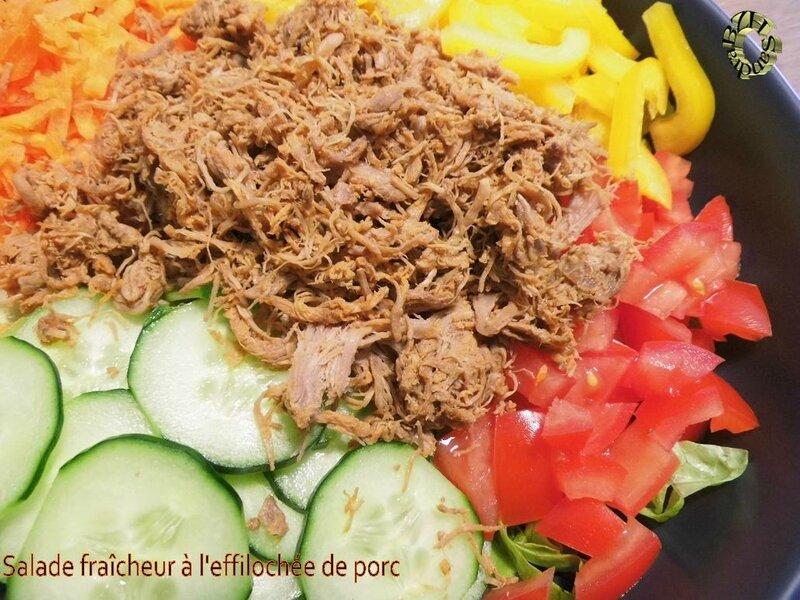 0617 Salade fraicheur à l'effilochée de porc 3