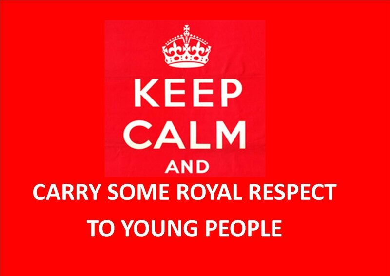 Keep calm and carry some royal respect to young people by Othello Ettounsi