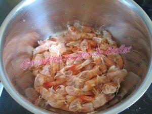Parmentier de Crevettes roses et petits pois05