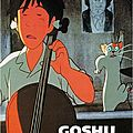 Goshu le violoncelliste d'Isao Takahata