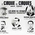 Cirque, du latin circus cercle, comme les arènes