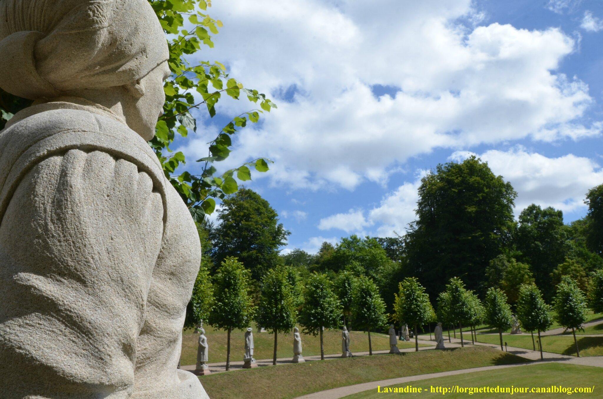 07/11/14 : Les jardins et les statues au château de Fredensborg