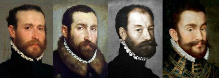 Portraits italiens vers 1560 à 1565