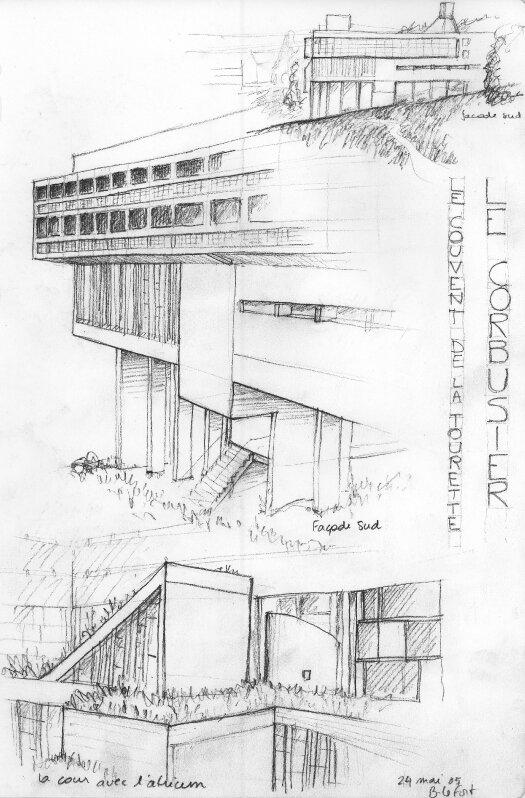 Couvent de la Tourette par Le Corbusier 43490388