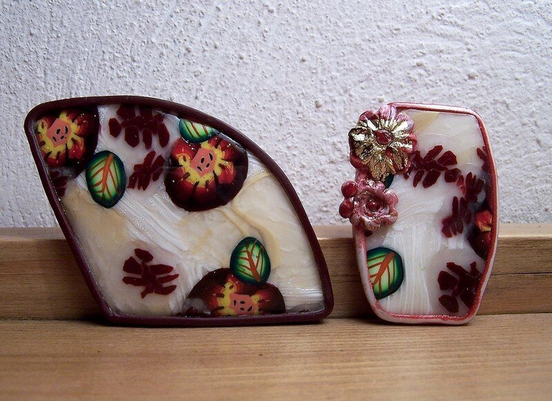 Broches_ikebana