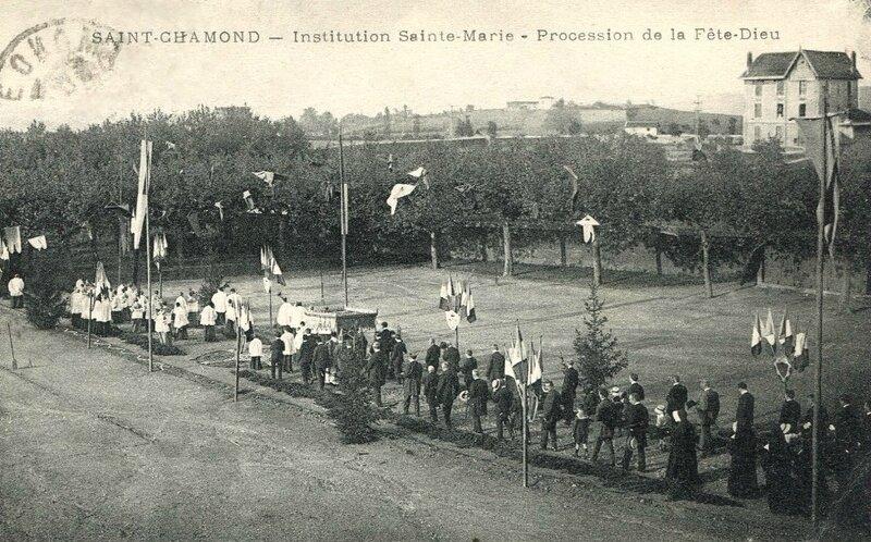 Fête-Dieu Saint-Chamond 1926 (1)