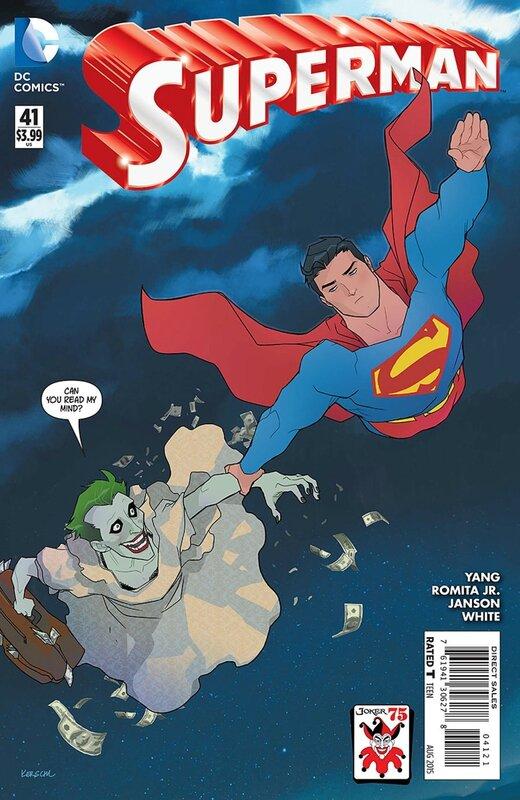 superman 41 joker variant