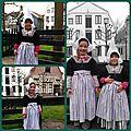 Déguisements de petites hollandaises : au zuiderzeemuseum d'enkhuizen